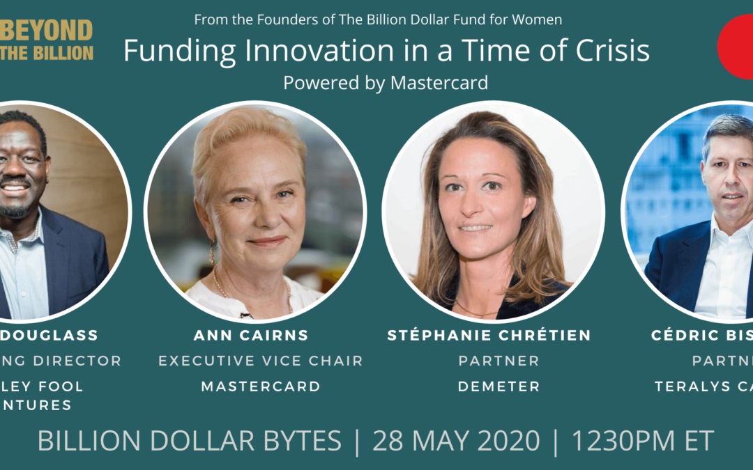 Funding Innovation in a Time of Crisis